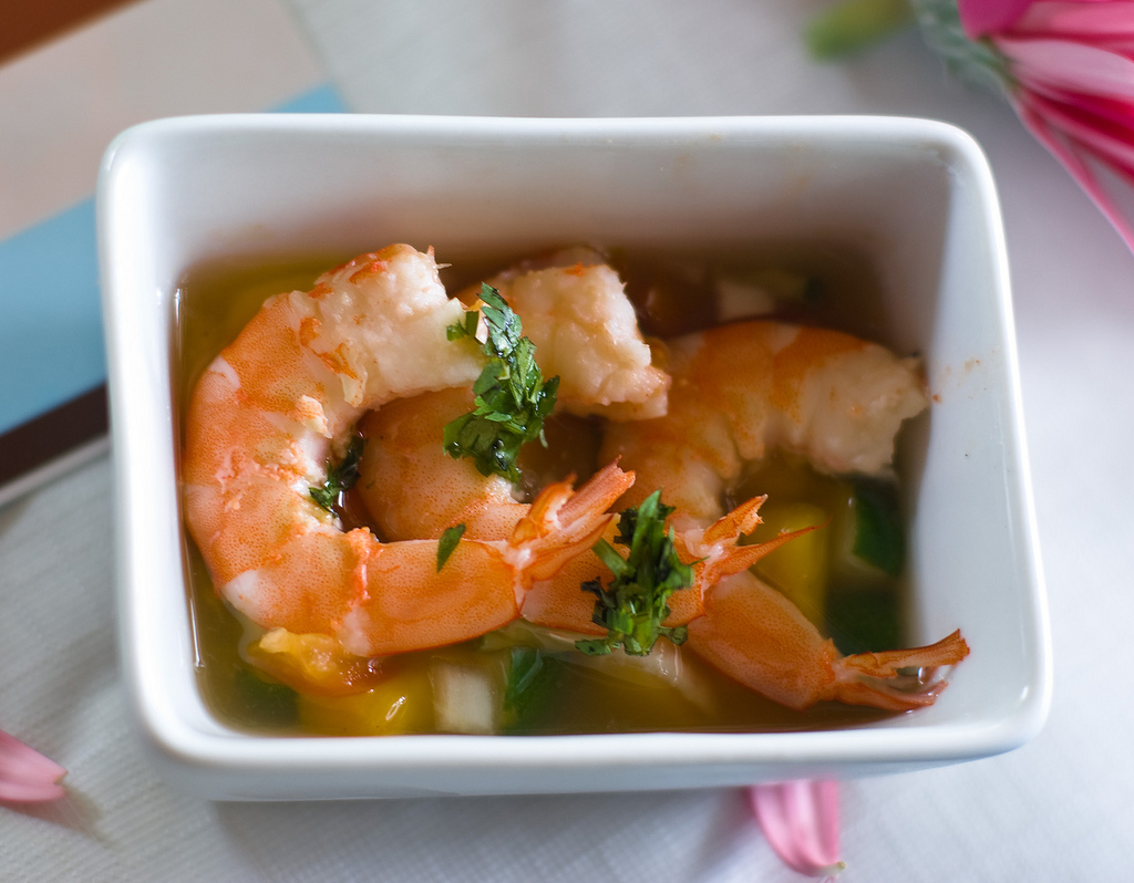 Tropical Shrimp Ceviche | I Love. Therefore, I Cook.