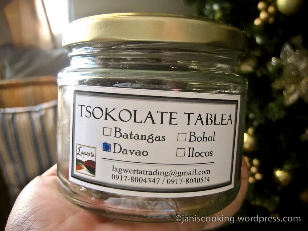 Tablea Tsokolate