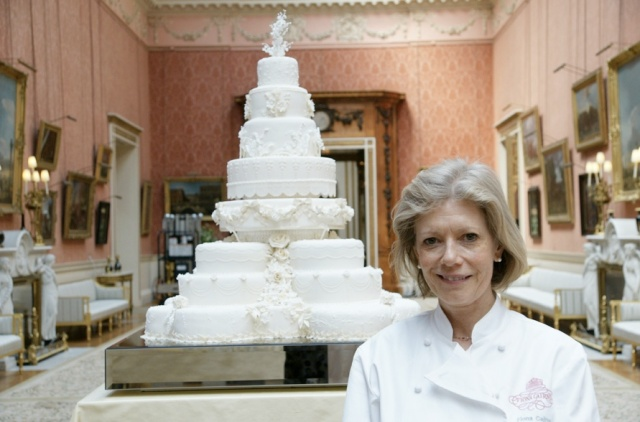 The Royal Wedding Cake And Joseph Lambeth Technique Jan Is Cooking