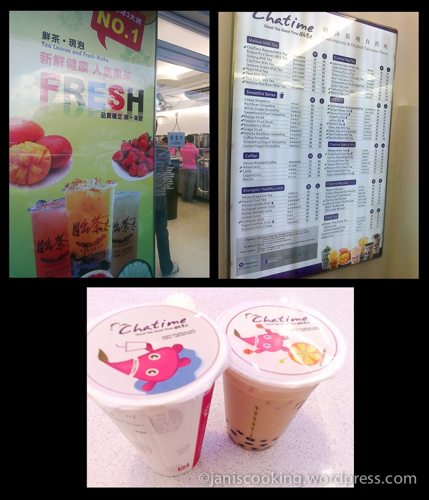 It's All About Tea at Chatime! – JAN IS COOKING
