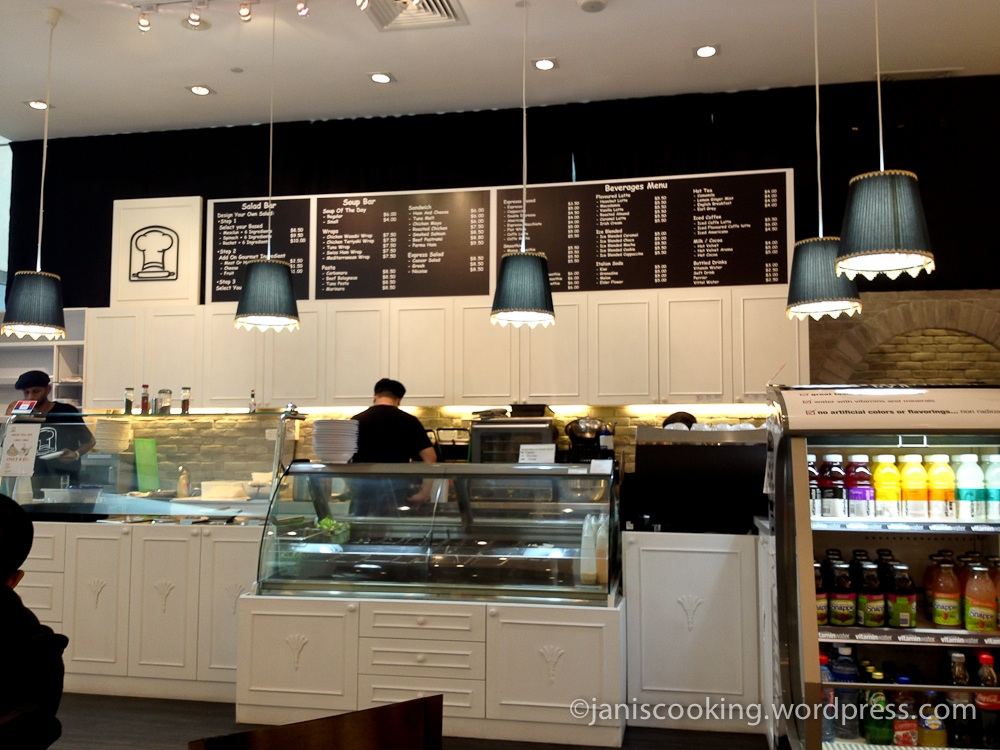 The gourmet bakery