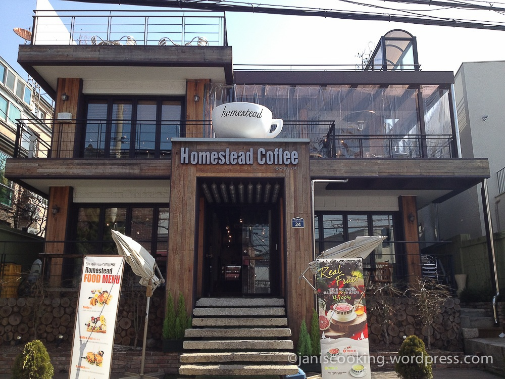 homestead cafe samcheong-dong