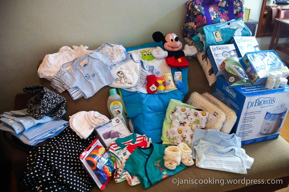 coed baby shower party