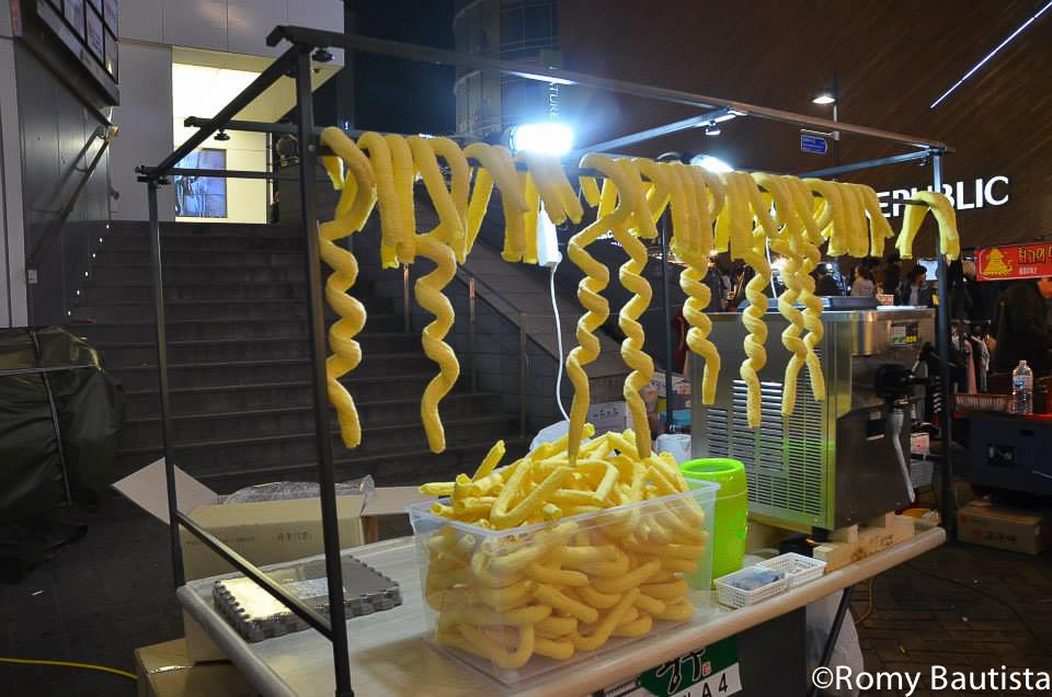 myeongdong street food