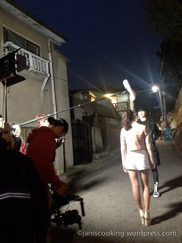 filming in seoul