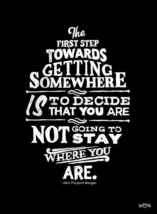 first-step-towards-getting-somewhere-tom-morgan-quotes-sayings-pictures